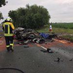 Tödlicher Unfall bei Schloßvippach im Landkreis Sömmerda