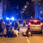 """Straßenblockade bei Closing Party """"Hinterzimmer"""" in Weimar"""