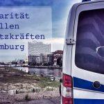 Solidarität mit allen Einsatzkräften in Hamburg