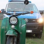 Mopedfahrer auf der Flucht: Polizei stellt 15-Jährigen in Klettbach