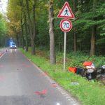 LKW übersieht E-Rollstuhl: 84-Jähriger in Graben geschleudert