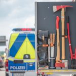 Schwerverletzte bei Unfällen auf der A4 bei Gotha - Unfall am Stauende