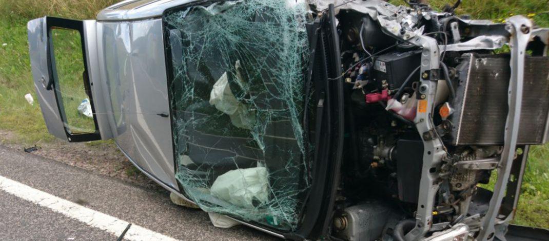 Schwerer Verkehrsunfall auf Zubringer der A71 bei Ilmenau