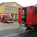 Chlorgaswolke zog über Eisenberg – Gefahrgutzug im Einsatz