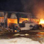 Hoher Sachschaden: Brand in einer Lagerhalle in Großrudestedt