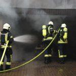 Garagenbrand im Landkreis Hildburghausen auf Haus übergegriffen