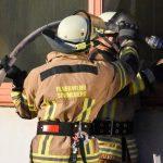 Brand in einer Lagerhalle in Sonneberg ausgebrochen