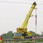 Stromausfall in Erfurt: Kran in Hochspannungsleitung verfangen