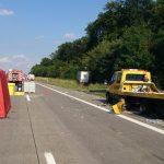 A4 bei Erfurt nach Gefahrgutunfall voll gesperrt
