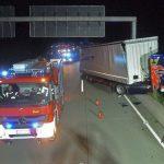 LKW-Fahrer nach Unfall auf A4 bei Gera schwer verletzt