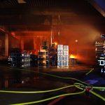 Produktionshalle von Autozulieferer in Heiligenstadt ausgebrannt