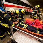 768 Einsatzkräfte nahmen an Übung im ICE-Tunnel Fleckberg teil
