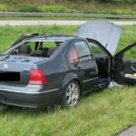 Kreislaufprobleme: Auto bei Suhl mehrfach überschlagen