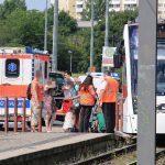 Frau in Erfurt von Straßenbahn erfasst und verletzt