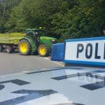 Mit Traktor kollidiert: Motorradfahrer stirbt im Wartburgkreis