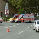 Vorfahrt missachtet: Unfall auf der Angerkreuzung in Jena