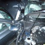 Unfall bei Starkregen auf der A4 bei Ronneburg