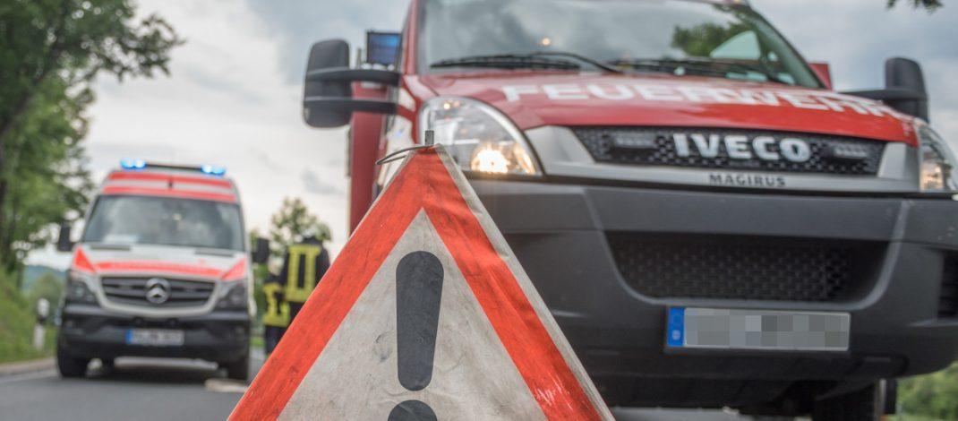 Motorradfahrer stirbt nach Unfall auf der B85 bei Saalfeld