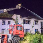 Brand in ehemaliger Maschinenfabrik in Saalfeld