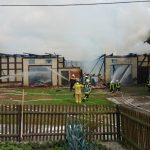 Gebäude eines Dreiseitenhofes im Altenburger Land abgebrannt