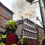 Hoher Sachschaden bei erneutem Brand in Schmalkalden
