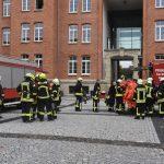 Weißes Pulver: Gefahrguteinsatz im Justizzentrum Meiningen