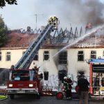 Gebäude einsturzgefährdet: Großeinsatz bei Brand in Gotha
