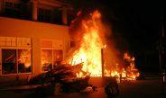 Brandstifter gestellt: Brand eines Sperrmüllhaufens in Eisenach