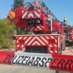Brand in ehemaliger Möbelfabrik in Stadtroda ausgebrochen