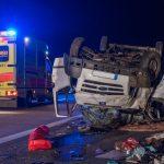 Hund nach tödlichem Unfall auf A4 bei Bucha vermisst