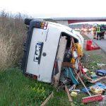 Mann bei Unfall auf A71 nahe Heldrungen schwer verletzt