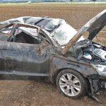Zu schnell bei Regen: Zwei Verletzte nach Unfall bei Heringen