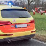 Zustand kritisch: Kradfahrer stieß mit LKW im Ilm-Kreis zusammen