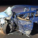 Trotz Überholverbot: Frontalcrash fordert vier Schwerverletzte