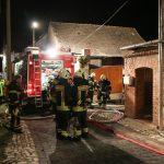 Mann aus brennendem Haus im Landkreis Sömmerda gerettet