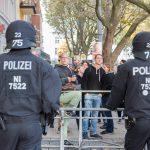 Polizeieinsatz aufgrund der AfD-Demo in Jena