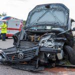 Fünf Personen nach Unfall auf der A4 bei Mellingen verletzt