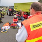 Rettungsdienst und Feuerwehr proben Ernstfall in Blankenhain