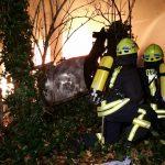 Zwei Feuerwehrleute bei Gebäudebrand in Zeulenroda verletzt