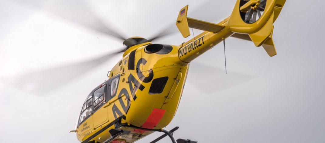 Gesundheitliche Probleme: Hubschrauber landet auf A4 bei Magdala