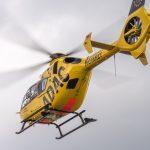 Rettungshubschrauber im Einsatz: Frau bei Eisfeld schwer verletzt