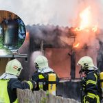 Gefährlicher Einsatz: Gasflaschen bei Brand in Weimar geborgen