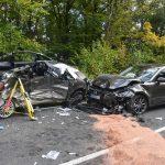 Zwei Personen nach Unfall bei Meiningen schwer verletzt