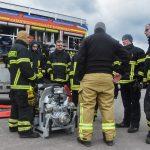 Ausbildung mit neuen Katastrophenschutzfahrzeugen in Suhl