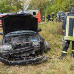 Zwei Verletzte nach Vorfahrtsfehler im Weimarer Land