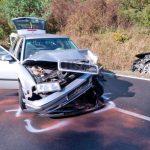 Zu schnell: Unfall bei Kranichfeld fordert vier Schwerverletzte