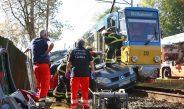 Zwei Schwerverletzte nach Kollision mit Straßenbahn in Gotha