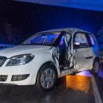 Geisterfahrerin: LKW erfasst PKW auf B7 bei Weimar