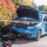 Ampelanlage nach Unfall in Bad Berka umgefahren