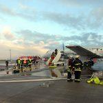 Für den Ernstfall vorbereitet: Großübung am Flughafen Erfurt-Weimar